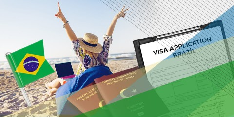 Brezilya Turistik Vize İşlemleri