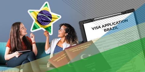 Brezilya Ziyaretçi Vizesi İşlemleri